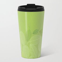 LEAVES ENSEMBLE GREENERY Travel Mug