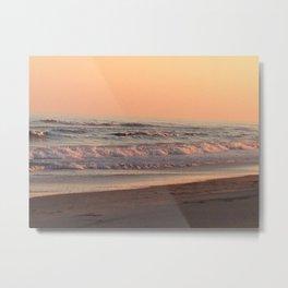 Ocracoke Sunset Metal Print