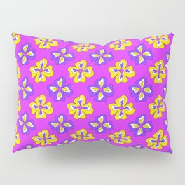 Pop pansy pattern! Pillow Sham