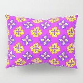 Pop pansy pattern! Pillow Sham