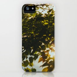 Over the River & Through the Trees iPhone Case