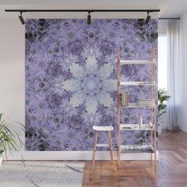 Inverse Fern Light Mandala Wall Mural