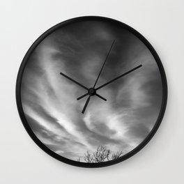 Higher Power b&w Wall Clock