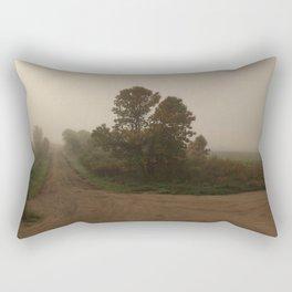Nowhere, ND Rectangular Pillow