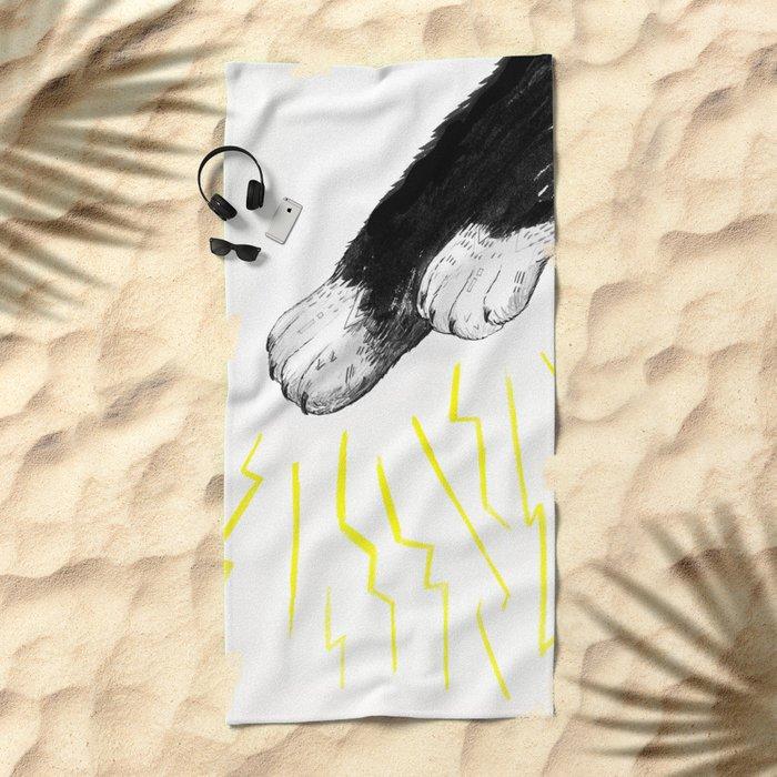 Magic Paws Beach Towel