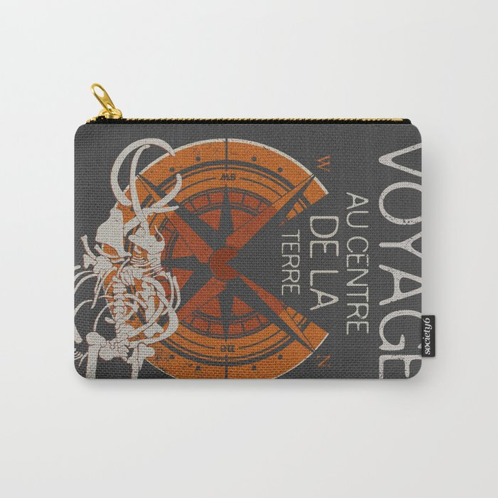 Books Collection: Jules Verne Carry-All Pouch