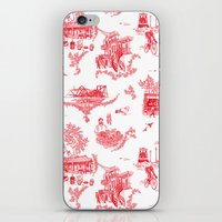 montreal iPhone & iPod Skins featuring Montreal Scenic by Audrey Fortin