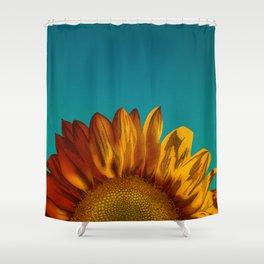 A Sunflower Shower Curtain
