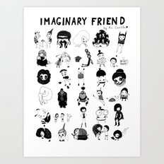 Imaginary Friend POSTER Art Print