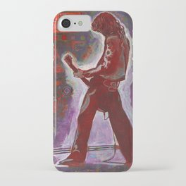 Rock and Roll in Red iPhone Case