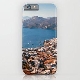 Leros Island Landscape iPhone Case
