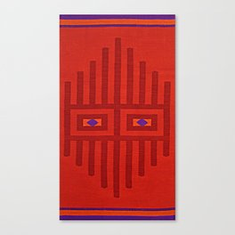 Peruvian Mask Canvas Print