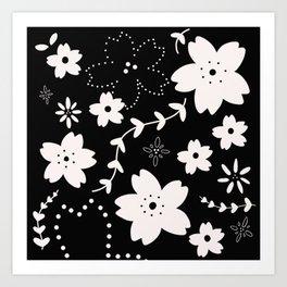 Dark Sakura 2018 Art Print