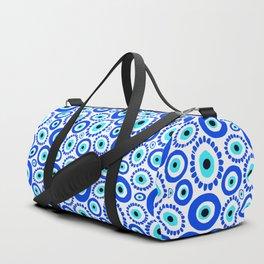 Evil Eye Mediterranean Lucky Symbol Duffle Bag
