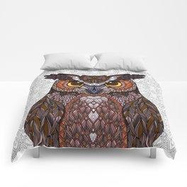 Great Horned Owl 2016 Comforters