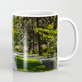 Pathway to the middle of nowhere Coffee Mug
