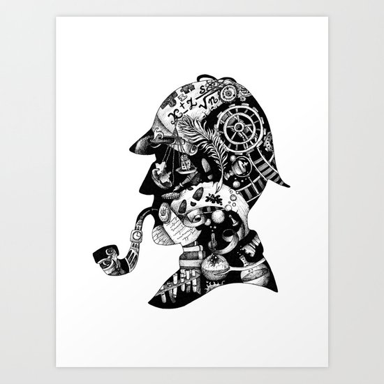 Mr. Holmes Art Print