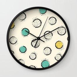 Lemon Mint Wall Clock