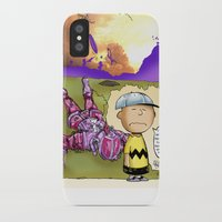 peanuts iPhone & iPod Cases featuring Peanuts  by Anand Brai