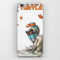ninja iPhone & iPod Skins featuring NINJA by Don Kuing