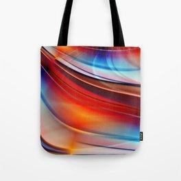 glowing Waves  Tote Bag