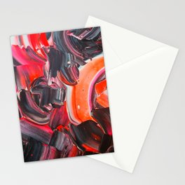 Color Explosion Late Night Stationery Cards