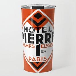 Hotel Pierre Paris Art Deco Travel Mug