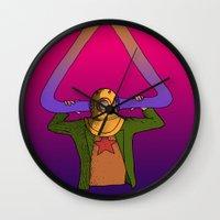 return Wall Clocks featuring The Return by -gAe-
