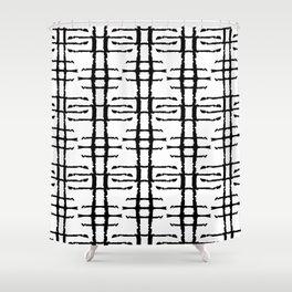 LETTERNS - E - Papyrus Shower Curtain