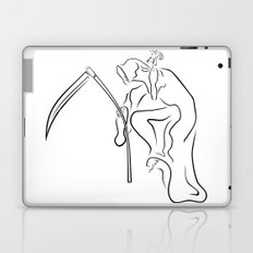 Gevatter / Godfather / Grim HIP HOP for Halloween Laptop & iPad Skin