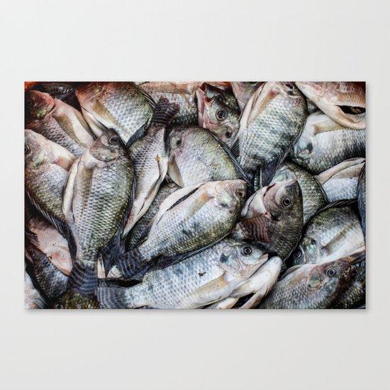 Pescados Canvas Print