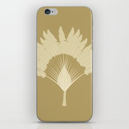 traveler tree iPhone Skin