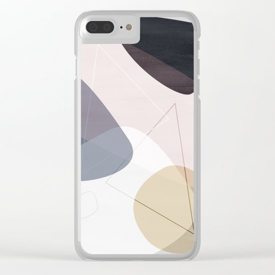 Graphic 150 B Clear iPhone Case