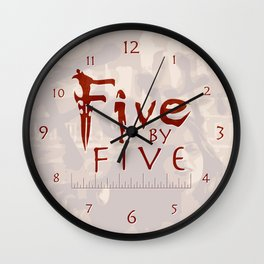 Faith the Vampire Sayer Wall Clock