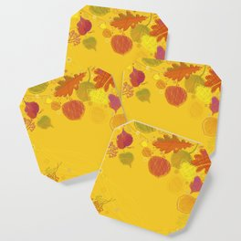 Autumn Doodles Coaster
