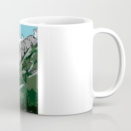 Aged Mountains  Coffee Mug