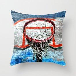 Basketball vs 111 Throw Pillow