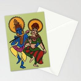 Radha Krishna Stationery Cards