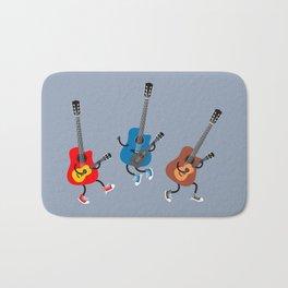 Dancing guitars Bath Mat