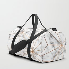 Marble & Gold 046 Duffle Bag