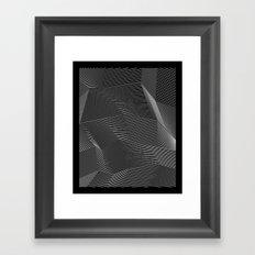 Minimal lines Framed Art Print