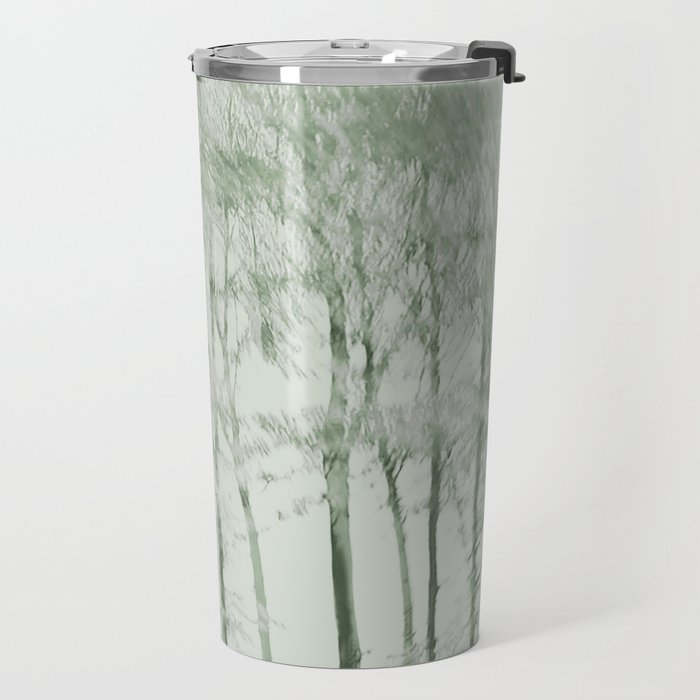Windy woods (green) Travel Mug