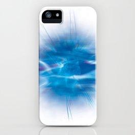 Mystic Blue iPhone Case