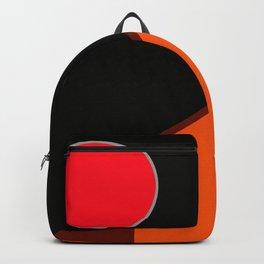 Red full moon Backpack