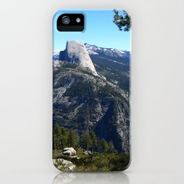 Imposing Glacier Point View iPhone Case