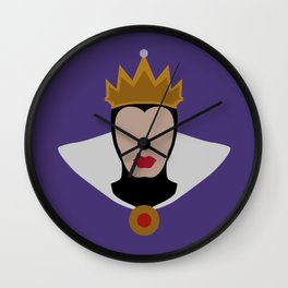 Snow White and the Seven Dwarves - The Evil Queen Wall Clock