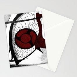 Itachi's mangekyou sharingan Stationery Cards