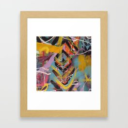 Graffiti Style Arrow Marking Making - Second in Series Framed Art Print