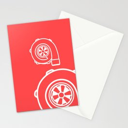 Forced Induction Turbo Stationery Cards