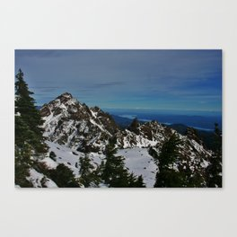 Looking North Canvas Print